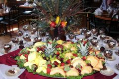 Event Fruit  and Dessert Table