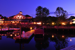 Madigan's Waterfront at Night from the Occoquan River