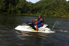 Jet Ski on the Occoquan River