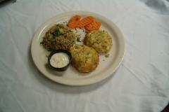 Crab Cake Platter