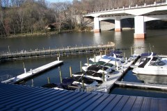Occoquan River from the Upstairs Event Area